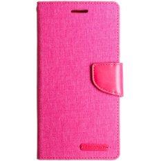 Mercury Case Xiaomi Mi4I Goospery Canvas Diary Case Pink Di Dki Jakarta