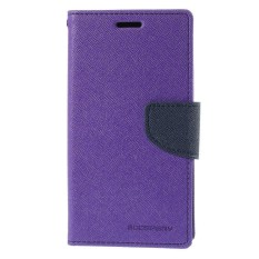 Mercury Fancy Diary Case for HTC One Mini - Purple/Navy