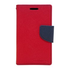 Mercury Fancy Diary Case - LG Optimus L5 - Merah/Navy