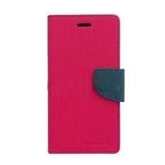 Mercury Fancy Diary Case untuk Oppo N1 mini Casing Cover Flip - Hotpink Biru