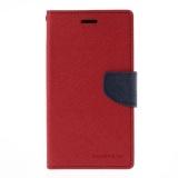 Spesifikasi Mercury Fancy Flip Case Casing Cover For Oppo Neo K R831K Merah Biru Lengkap Dengan Harga