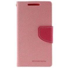 Toko Mercury Fancy Flip Case Casing Cover For Samsung Galaxy E5 E500 Pink Hotpink Murah Di Dki Jakarta