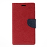 Jual Mercury Fancy Flip Case Casing Cover For Sony Xperia C3 Multicolor Import