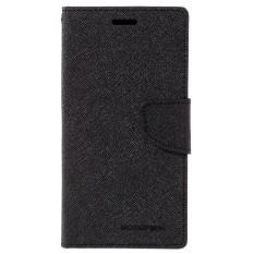 Mercury Fancy Flip Case Casing Cover for Sony Xperia SP - Hitam