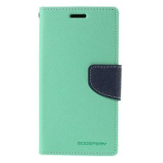 Mercury Fancy Flip Case Casing Cover for Sony Xperia SP - Toska Biru