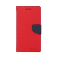 Mercury Goospery Fancy Diary Case for LG G4 Stylus - Merah - Navy