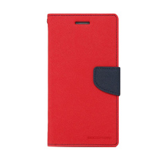 Mercury Goospery Fancy Diary for LG G2 Mini Case - Merah/Navy
