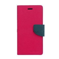 Harga Mercury Goospery Fancy Diary For Oppo Find 5 Mini Case Hot Pink Navy Satu Set