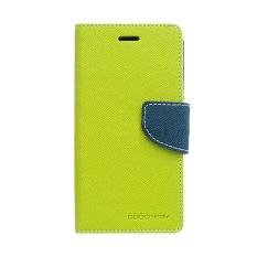 Ulasan Lengkap Mercury Goospery Fancy Diary For Samsung Galaxy Ace 3 Case Lime Navy