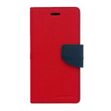 Harga Mercury Goospery Fancy Diary For Samsung Galaxy Note 3 Neo Case Red Navy Murah