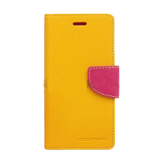 Tips Beli Mercury Goospery Fancy Diary For Samsung Galaxy Note 3 Neo Case Yellow Hot Pink Yang Bagus