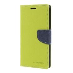 Mercury GoosPery Buku Harian Mewah Dudukan Dompet Kulit Cangkang Pelindung Ponsel untuk Huawei P8 Lite (2017)/Honor 8 Lite-Hijau-Intl