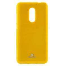 MERCURY GOOSPERY untuk Xiaomi Redmi Catatan 4X/Note 4 Glitter Bubuk TPU Perlindungan Cover-Kuning-Intl