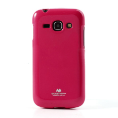 Mercury Goospery Jelly Glitter Case for Galaxy Core 2 - Hotpink