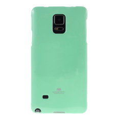 Mercury Goospery Jelly Glittercase for Samsung Galaxy Note Edge Case - Mint