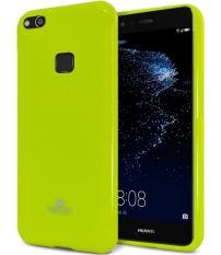Mercury Jelly Soft Case for Huawei P10 Lite - Lime