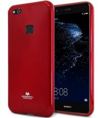 Mercury Jelly Soft Case for Huawei P10 Lite - Red