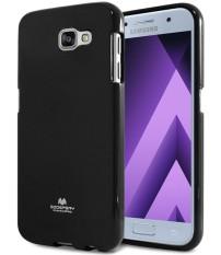 Beli Mercury Jelly Soft Case For Samsung Galaxy A5 2017 Black Online Murah