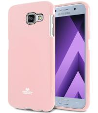 Mercury Jelly Soft Case For Samsung Galaxy A5 2017 Pink Goospery Mercury Diskon