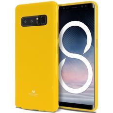 Mercury Jelly Soft Case For Samsung Galaxy Note 8 Yellow Goospery Mercury Diskon 30