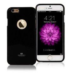 Mercury Jelly TPU Soft Case iPhone 6S Casing Cover - Hitam