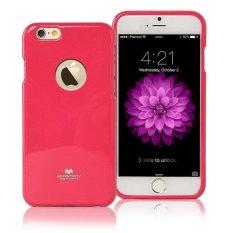Mercury Jelly TPU Soft Case iPhone 6S Casing Cover - Pink Tua