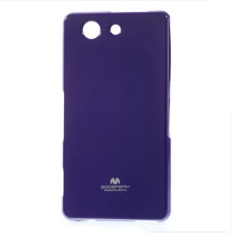 Mercury Jelly TPU Soft Case Sony Xperia Z3 Compact / Mini Casing Cover - Ungu
