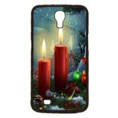 Spesifikasi Merry Christmas Pola Phone Case Untuk Samsung Galaxy Mega 6 3 I9200 Hitam Baru