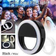 Mesh Selfie Ring Fill Light LED Portable Lampu Selfie Bulat/ Clip-on Mini 36 LED Selfie Ring Lamp Fill-in Light Night Lampu Selfie Ring Lighting for All HP -  Warna