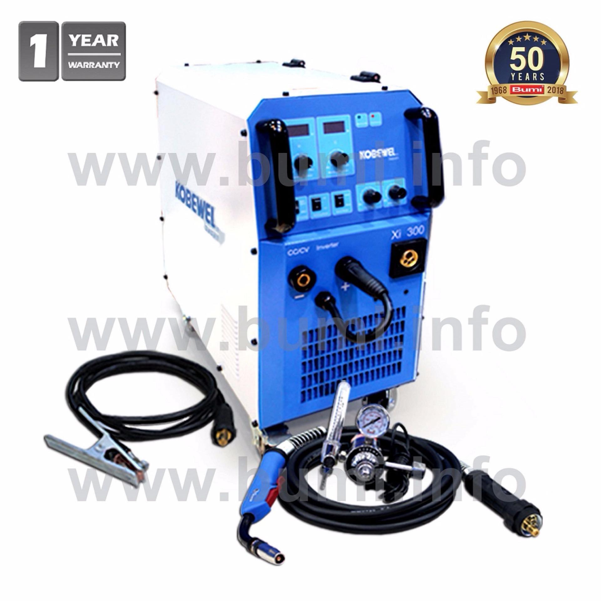 Mesin Las Inverter MIG MAG 300A - Kobewel Xi 300 - Free Helm Las