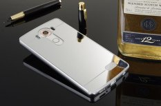 Bingkai Logam Mobile Phone Case Elektroplating Cermin Phone Protection Shell untuk LG X SCREEN-Intl