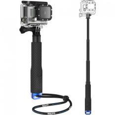Metal Lid Pov Extendable Pole Monopod 48 cm for GoPro / Xiaomi Yi / Xiaomi Yi 2 4K - Blue