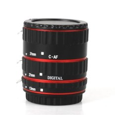 Mount Logam AF Ekstensi Makro Fokus Otomatis 13mm Tabung + 21mm Tabung + 31mm Tabung For Canon EOS EF-S 1D X 60D 7D 6D 5D Mark III
