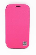 Metal-Slim classic Z Samsung Galaxy S4  - Merah Muda
