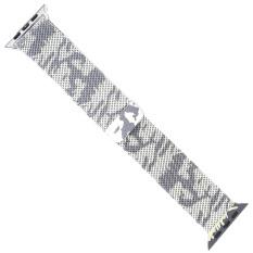 Promo Polaroid Jepitan Baja Logam Magnet Yang Dapat Disesuaikan For Perhiasan Pengganti Band Tali Pengikat Apple Watch 42X250Mm Putih Kamuflase Di Tiongkok
