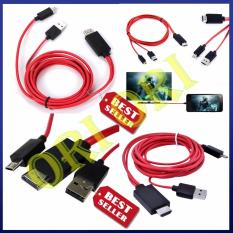 MHL micro USB untuk HDMI 1080P HD TV kabel adaptor untuk Samsung Galaxy S3/4/5 Note 2/3/4