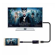 MHL3.0 untuk HDMI kabel 4 K * 2 K Ultra HDTV TV cermin kabel adaptor untuk Samsung