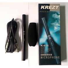 Spesifikasi Mic For Kamera Dslr Video Cam Profesional Condenser Krezt 818 Shotgun Terbaik