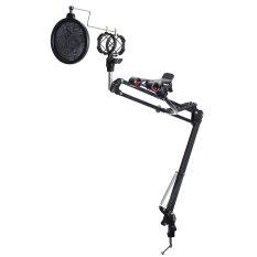 Harga Mikrofon Booming Menggunting Lengan Suspensi Stan For Studio Siaran Pemegang Merk Oem