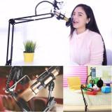 Harga Mikrofon Booming Menggunting Lengan Suspensi Stan For Studio Siaran Pemegang Seken