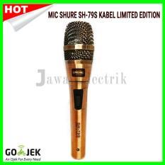 Harga Termurah Mic Shure Sh 79S Mic Kabel Limited Edition