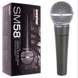 Jual Mic Shure Sm 58 Mik Mikropon Microphone Kabel Shure Murah