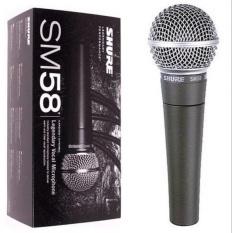 Review Mic Shure Sm 58 Mik Mikropon Microphone Kabel Di Indonesia