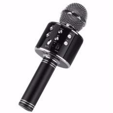 MIC Smule Karaoke Microphone  Portable Original WS-858 -  Bluetooth - Wireless Microphone / Speaker USB