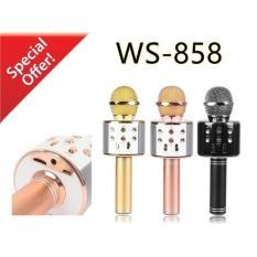 MIC WSTER WS-858 Wireless Bluetooth Karaoke - Mic Smule WSTER WS-858