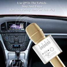 Jual Micgeek Karaoke Q9 Bluetooth Wireless Microphone With Speaker Karaoke Random Di Bawah Harga