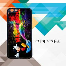 mickey mouse painting L0540 Oppo F1S Custom Case Cover