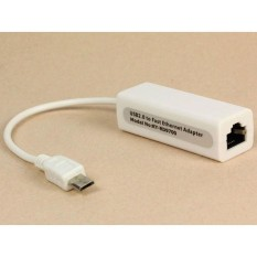 Micro 5pin USB To RJ45 10/100M Ethernet Lan Card for SamsungTable PC - intl