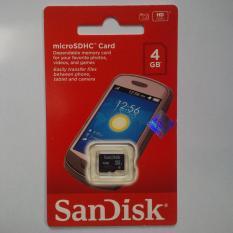Promo Micro Sd Sandisk 4 Gb Class 6 Dijamin Asli