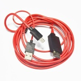 Jual Micro Usb Mhl To Hdmi Av Tv Adapter Converter Cable Cord Lead For Android Phone Intl Satu Set